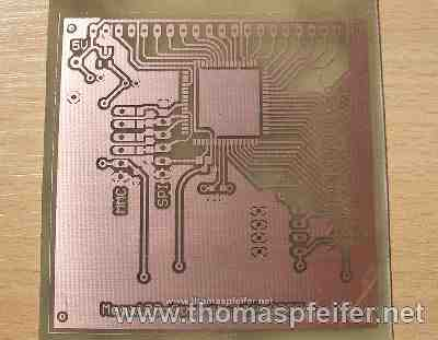 Create PCBs with the direct toner method