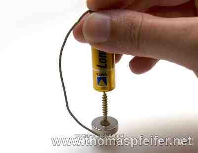 Homopolar Motor - Der einfachste Motor der Welt