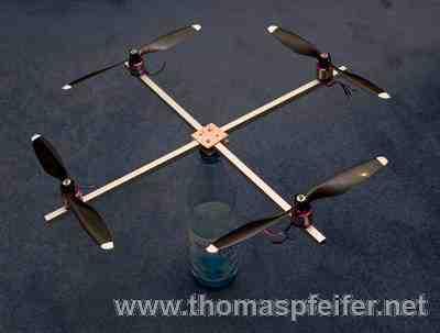 Eigenbau-Quadrocopter